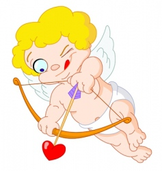 Little cupid vector