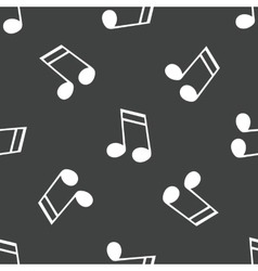 Sixteenth note pattern vector image