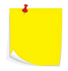 Sticky note3 vector image