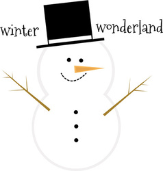 Winter Wonderland vector