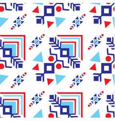 tribal ancient ornaments diagonally seamless vector image vector image