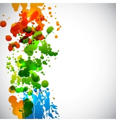 Splash background vector image vector image