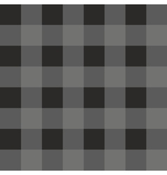 Tile dark grey and black plaid pattern vector image