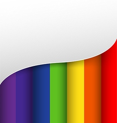 Abstract background colorful rainbow color vector image