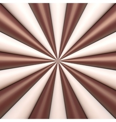 Abstract chocolate and cream background vector