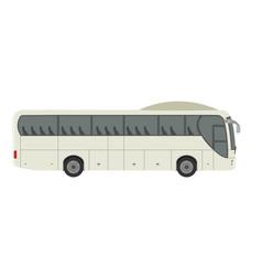 express travel tourist bus vecor flat design vector image