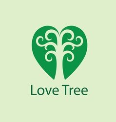 Love Tree Logo vector