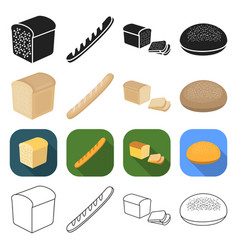 production food treats and other web icon in vector image