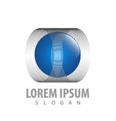 sphere circle line concept design symbol graphic vector image