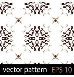 Swirls ribbons pattern vector image vector image
