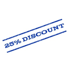 25 Percent Discount Watermark Stamp vector