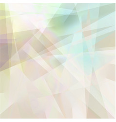Abstract geometric background in pastel colors vector
