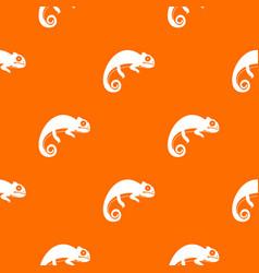 Chameleon pattern seamless vector