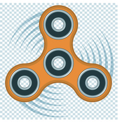 fidget spinner relaxing toy vector image