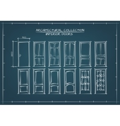 Interior Doors Set vector image