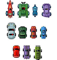 Cars For Computer Games vector image