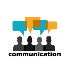 communication between people vector image vector image
