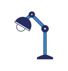 desk lamp icon image vector image
