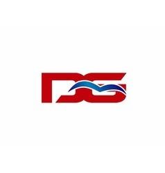 DG letter logo vector image
