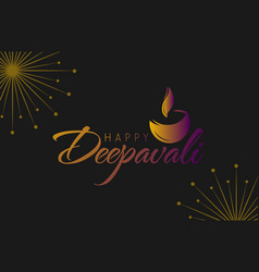 Happy diwali design banner 01 vector