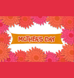 Mother day holiday background can be use for vector