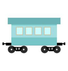 Railcar vector