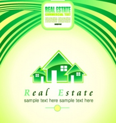 real estate background vector image
