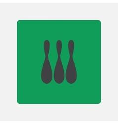 skittles icon vector image