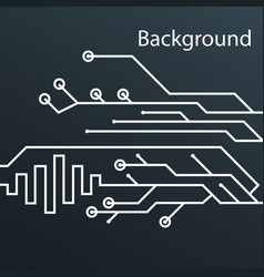 abstract digital technology background design vect vector image