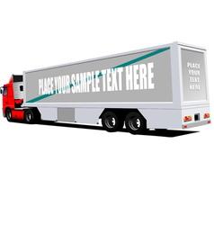 al 0608 truck vector image