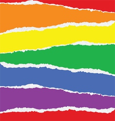 Background with rainbow colors vector