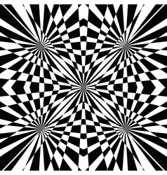 black and white abstract background vector image