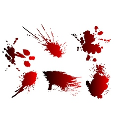 Blood spatter vector