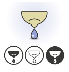 breastfeeding line icon vector image