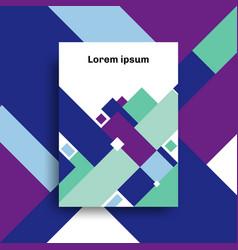 Brochure a4 size template design abstract vector