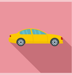 gas car icon flat style vector image