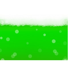 green beer background for saint patricks day with vector image