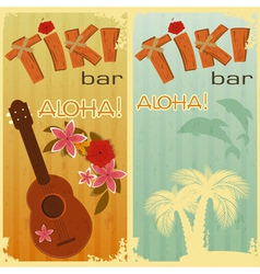 Hawaiian party vector image