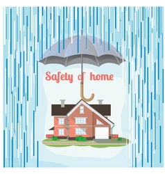 Safety of home vector