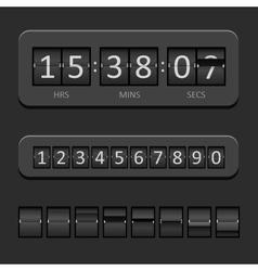 Countdown Board vector image
