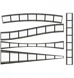 film strip set vector image