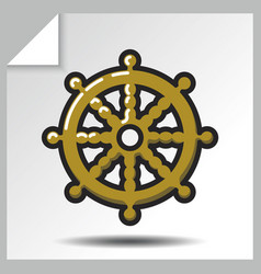 religion icons 8 vector image