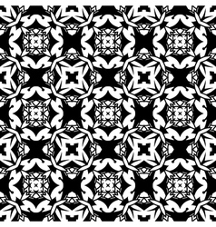 Abstract monochrome pattern vector image