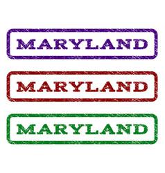 maryland watermark stamp vector image