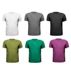 men t-shirts Design vector image