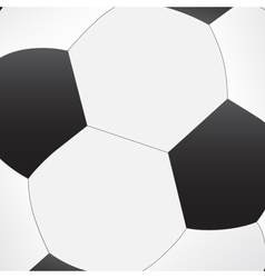 Soccer ball texture vector image vector image