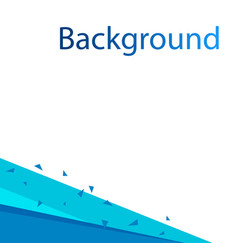 abstract blue white background design image vector image