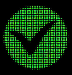 apply halftone icon vector image