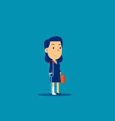 Business person injury employee failure concept vector
