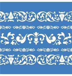 folklore ornament pattern vector image